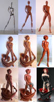 Black Queen Process by TKMillerSculpt