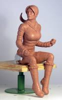 AH Snow Day Lara Croft by TKMillerSculpt
