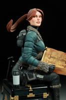 AH Snow Day Lara Croft 02 by TKMillerSculpt