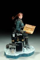 AH Snow Day Lara Croft 01 by TKMillerSculpt