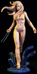 X-23 Final by TKMillerSculpt