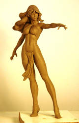 Goblin Queen WIP by TKMillerSculpt