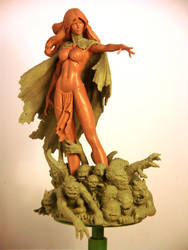 Goblin Queen Final by TKMillerSculpt