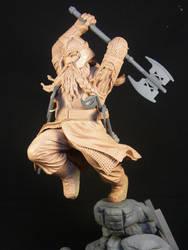 Gimli Raw by TKMillerSculpt