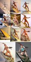 AH Lara Croft WIP by TKMillerSculpt