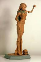 Vampy Bitme ZOMBIE GURRRL 3 by TKMillerSculpt