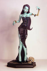 Zombie Gurrrl Painted 01 by TKMillerSculpt