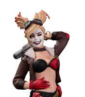 DC Comics Bombshells Harley by TKMillerSculpt