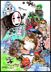 miyazaki hommage. by mowri
