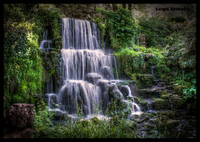 Bowood Waterfall by nicholls34