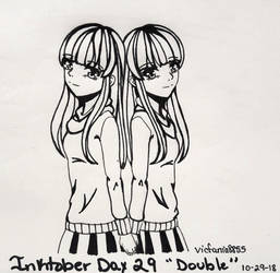 Inktober 2018- Day 29 Double by vicfania8855
