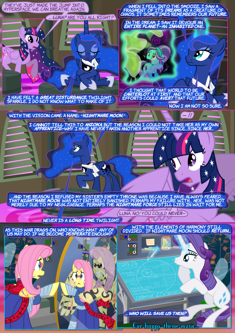 The Pone Wars 7.26: Retroboding by ChrisTheS