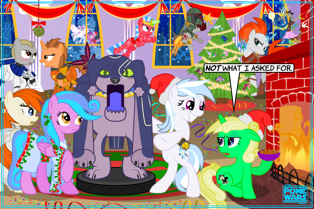 Star Mares: The Pone Wars: Hearth's Warming IV by ChrisTheS