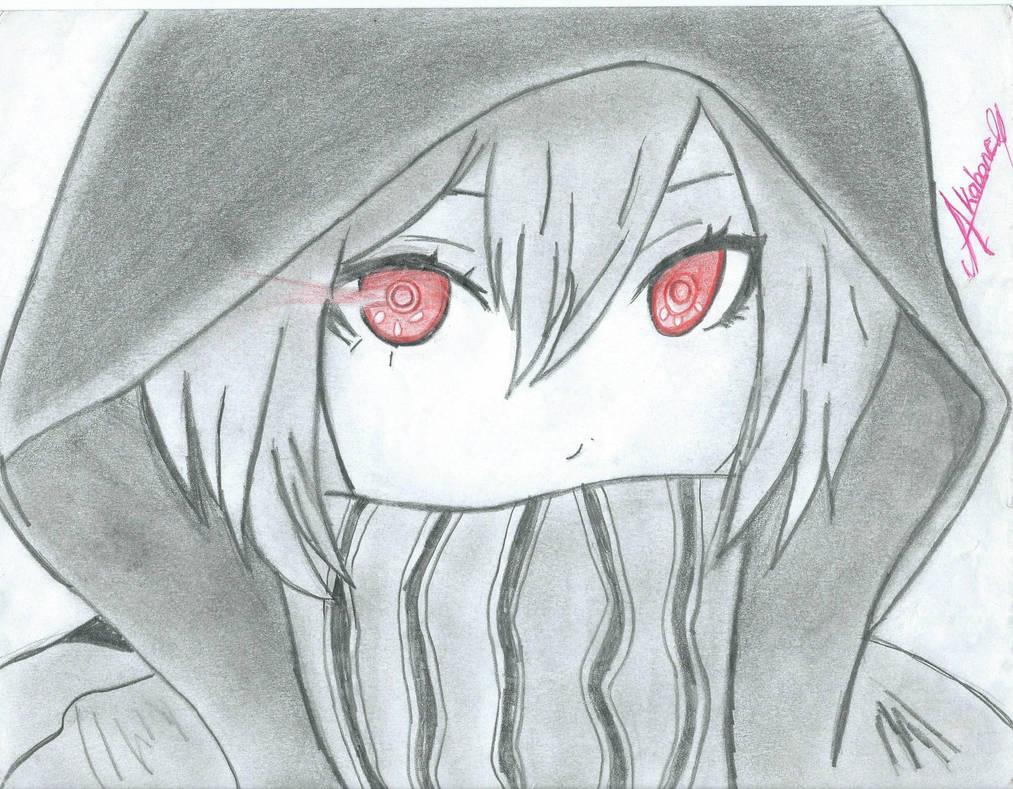 Girl anime drawing by hyakuya akabane