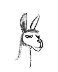 Drama Llama by Black-Helbi