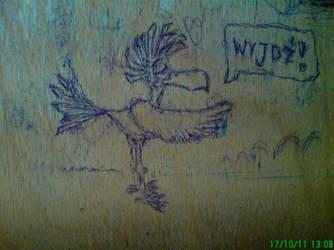 University doodle by Black-Helbi