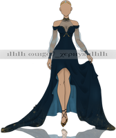 Gentle Swoosh [Outfit Adopt #9] CLOSED by Winged-Xephyr
