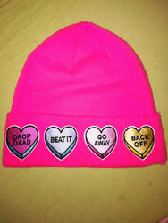 candy candy beanie by lafille1979