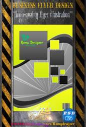 Business Flyer Design - 99 by ramyzedan