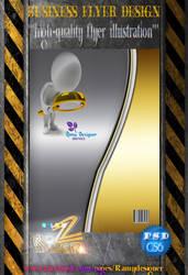 Business Flyer Design -3 by ramyzedan