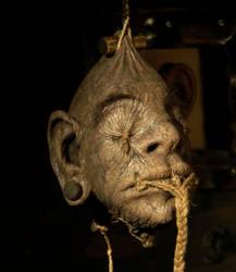 Shrunken head by The-Krypt-Creature