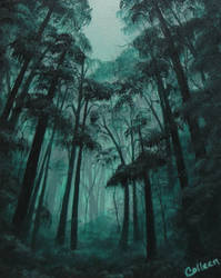 Turquoise Seclusion by crazycolleeny