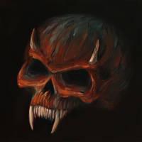 Skull 19 (50Skulls) by crazycolleeny