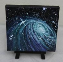 Mini Galaxy #2 by crazycolleeny