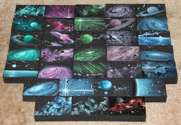 Mini Artomat Spacescapes 901-932 by crazycolleeny