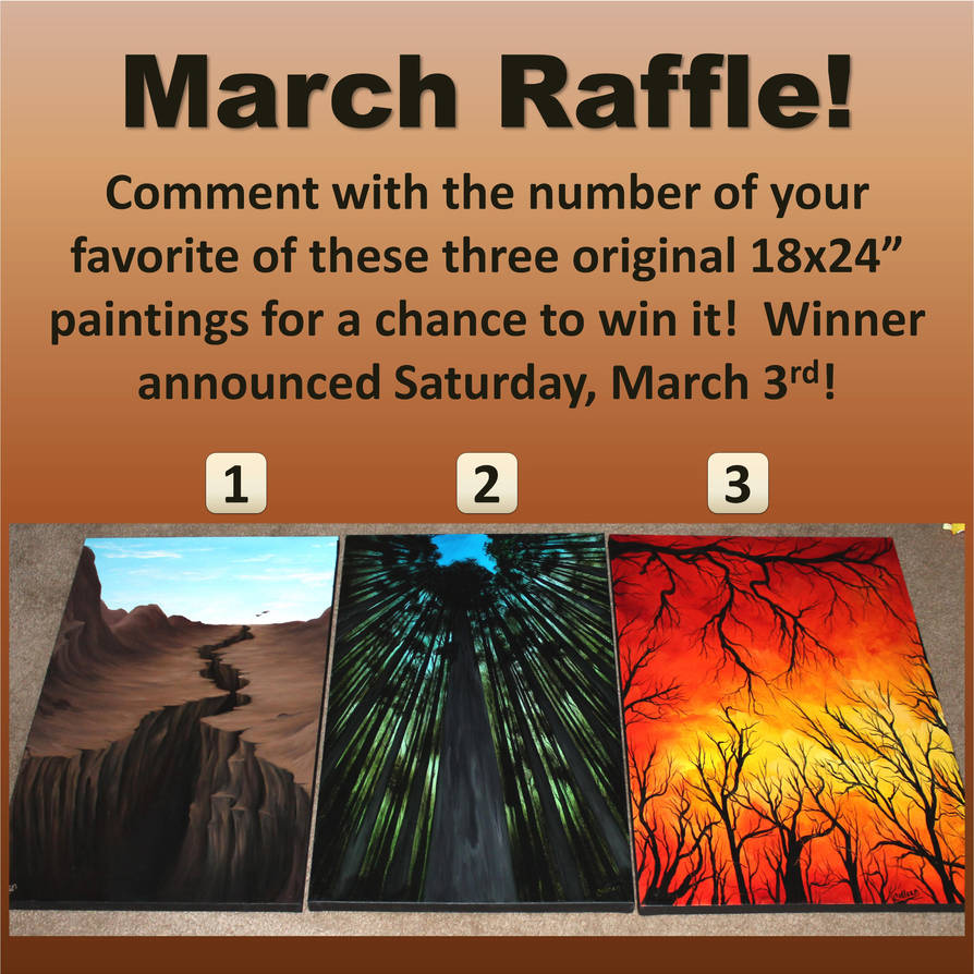 Raffle March by crazycolleeny