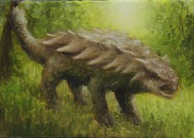 Ankylosaurus by crazycolleeny