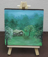 Mini Forest Cabin #1 by crazycolleeny
