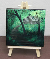Mini Forest Cabin #2 by crazycolleeny