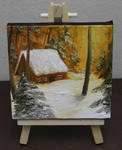 Mini Forest Cabin #3 by crazycolleeny