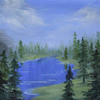 Forest Lake by crazycolleeny