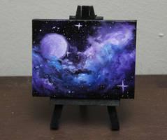 Mini Purple Moon by crazycolleeny