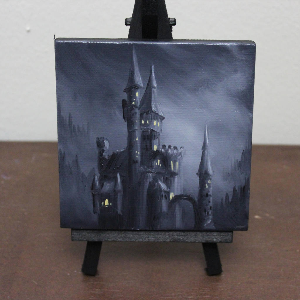 Mini Spooky Castle by crazycolleeny