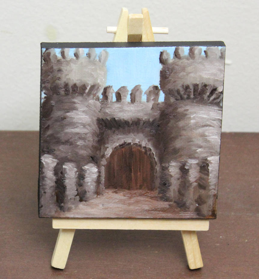 Mini Castle Entrance by crazycolleeny