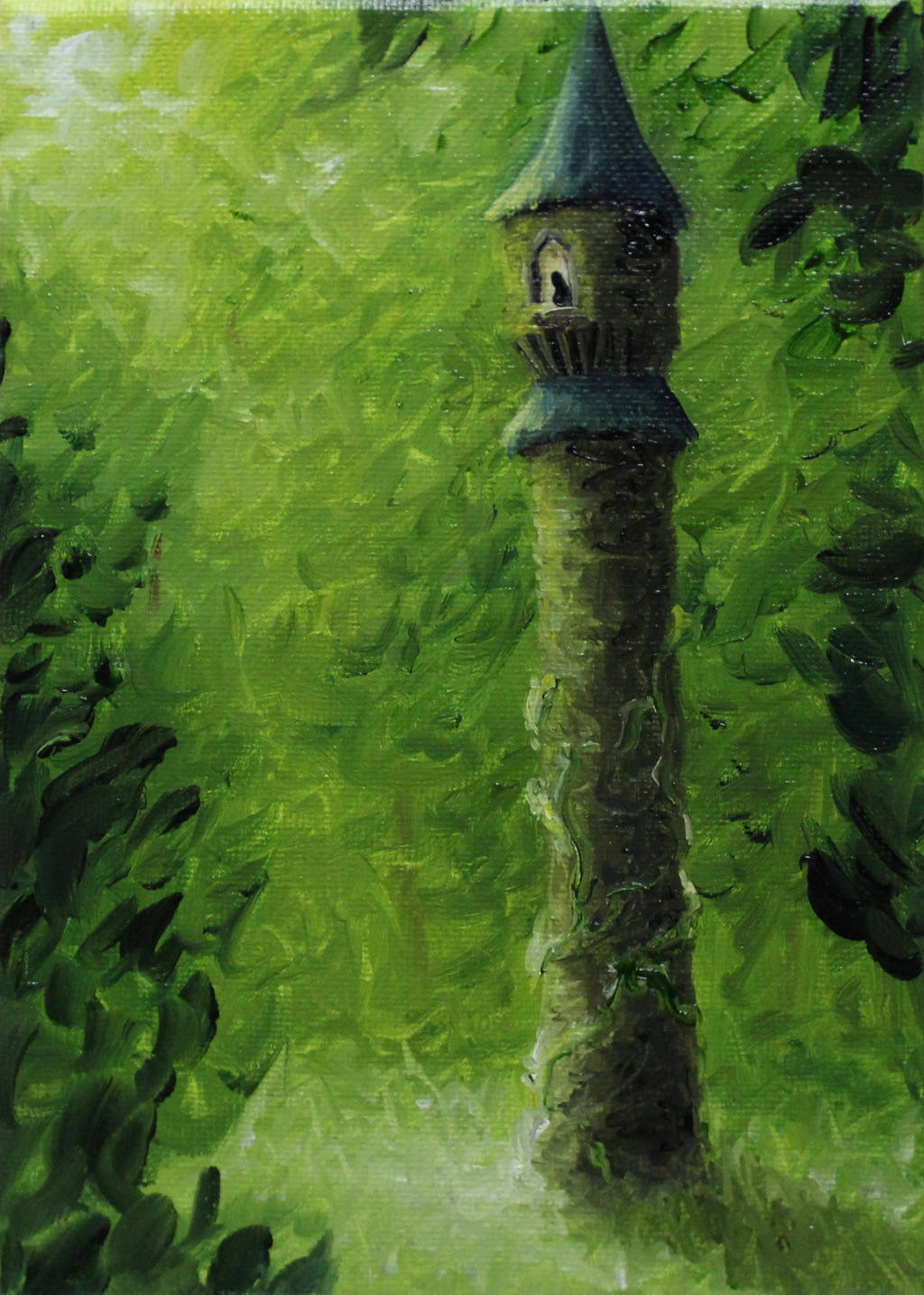 Rapunzel's Tower by crazycolleeny