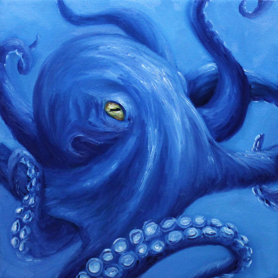 Cobalt Octo by crazycolleeny