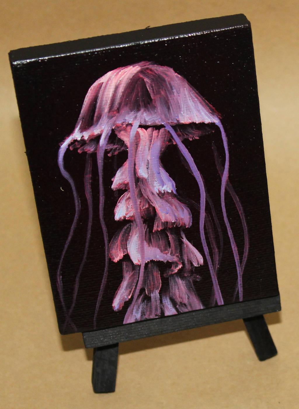 Mini Irridescent Jellyfish by crazycolleeny