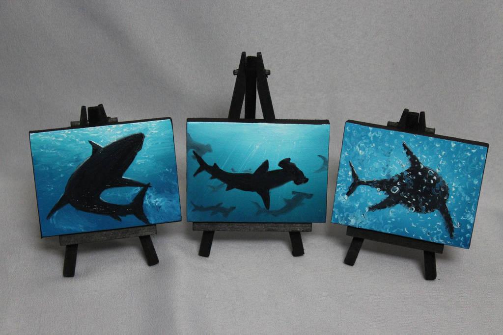 Mini Sharkies by crazycolleeny