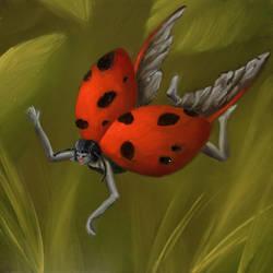 Fairybug by crazycolleeny