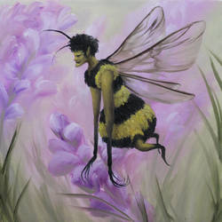 Queen Bee Fairy by crazycolleeny