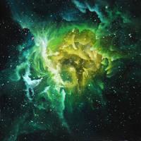 Nebula RCW 49 by crazycolleeny