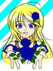 Blue Rose by tanaatu