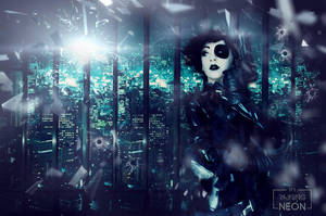 Domino x-force by Its-Raining-Neon