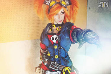 Gaige Borderlands 2 Mechromancer by Its-Raining-Neon