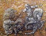 The Lionslayer.Detail1 by Somaritan
