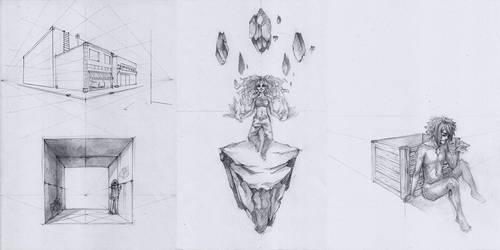 Sketchdump January 2014 by DamaiMikaz